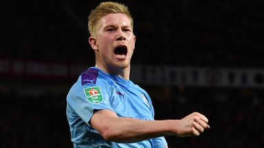 fifa live scores - Kevin De Bruyne says Manchester City spent just 15 minutes preparing false-nine plan