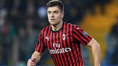 fifa live scores - Krzysztof Piatek: Aston Villa in talks with AC Milan to sign £25.5m Poland striker