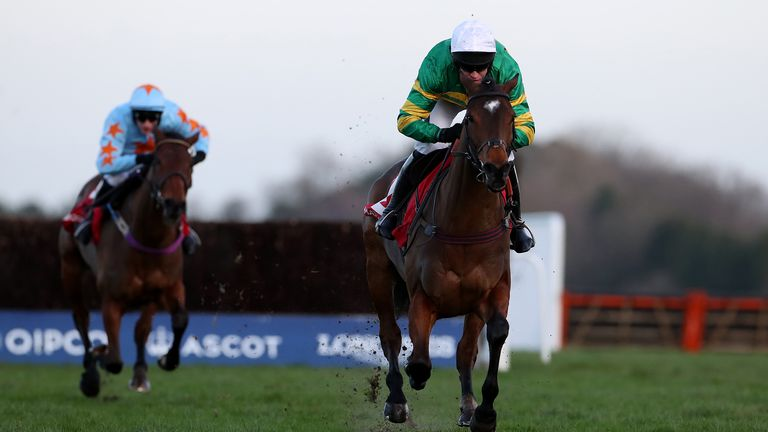 Defi Du Seuil wins Clarence House Chase in Ascot