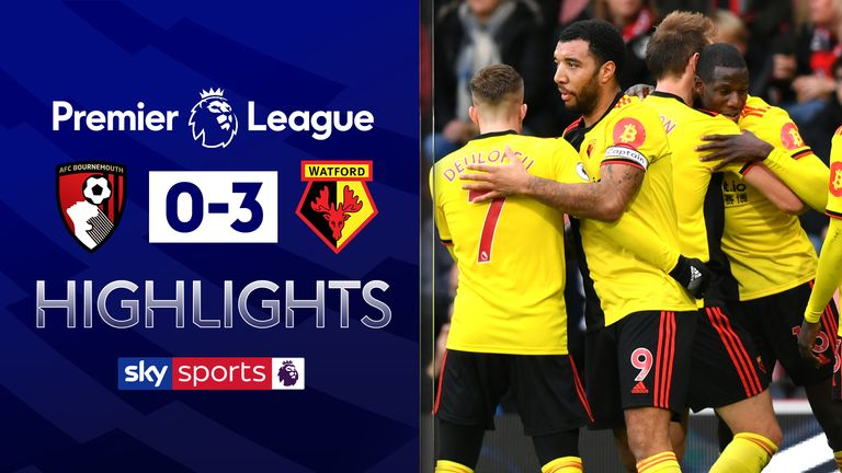 FREE TO WATCH: Highlights from Watford's win over Bournemouth in the Premier League