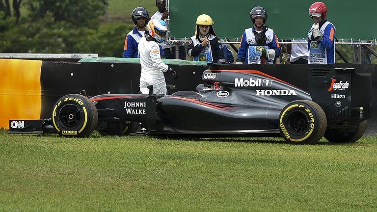 Alonso, McLaren and Honda endured a torrid 2015