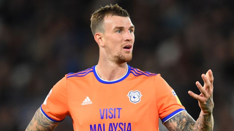 Aden Flint scored twice as Cardiff edged beyond Carlisle in the FA Cup