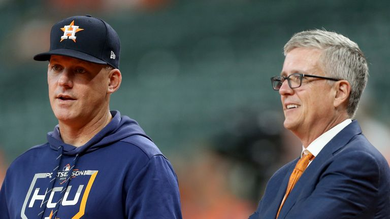 A.J Hinch and Jeff Luhnow have been fired by Houston Astros