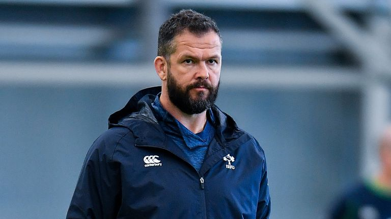 Andy Farrell said Ireland were again unable to handle a fast start by England