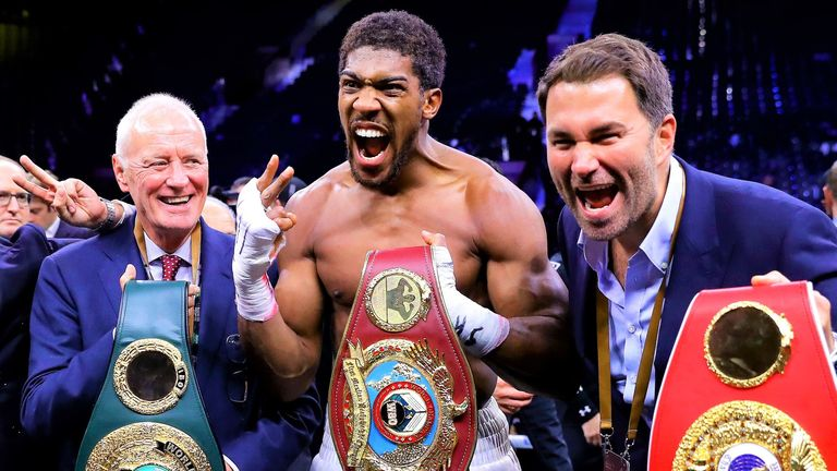 Anthony Joshua defeated Andy Ruiz Jr to regain his world titles