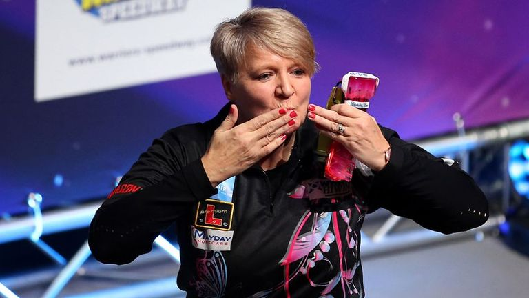 Lisa Ashton became the first woman in darting history to win a Tour Card via Qualifying School back in January