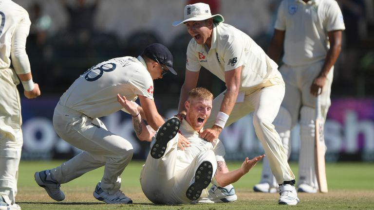 Stokes won the Cape Town Test for England in January by taking the final three wickets