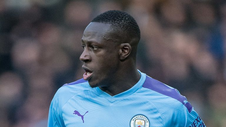 Benjamin Mendy says he can't wait to return to action with Man City
