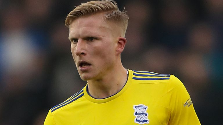 Kristian Pedersen joined Birmingham on a four-year deal from Union Berlin in June 2018