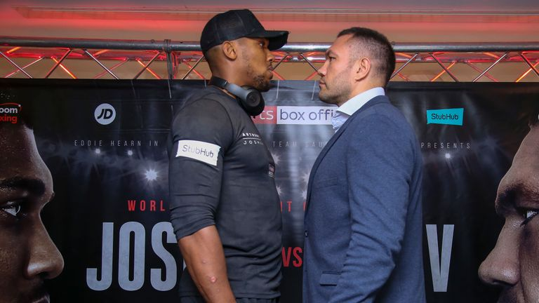 Joshua is close to finalising a fight against Kubrat Pulev