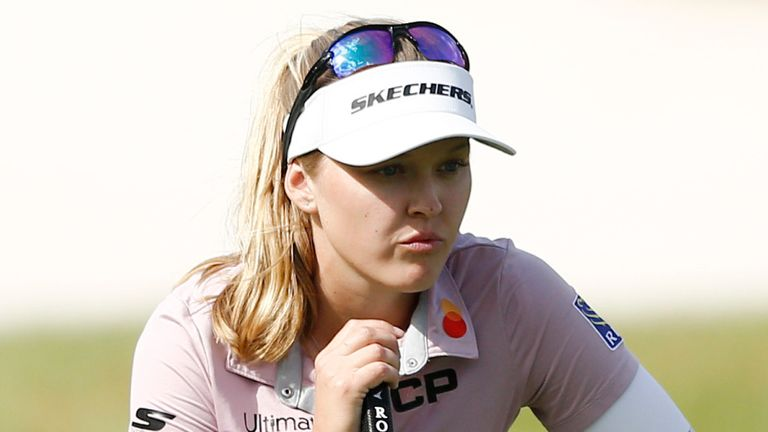 Henderson held the outright lead until a final-hole bogey