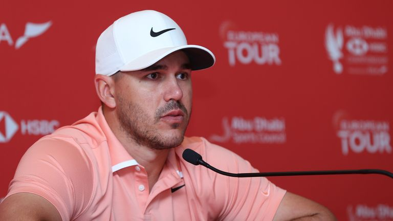 Koepka struggled with a knee injury for most of last season