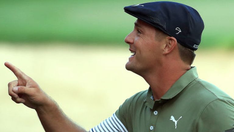 DeChambeau can become the first player since Stephen Gallacher to successfully defend his Dubai title