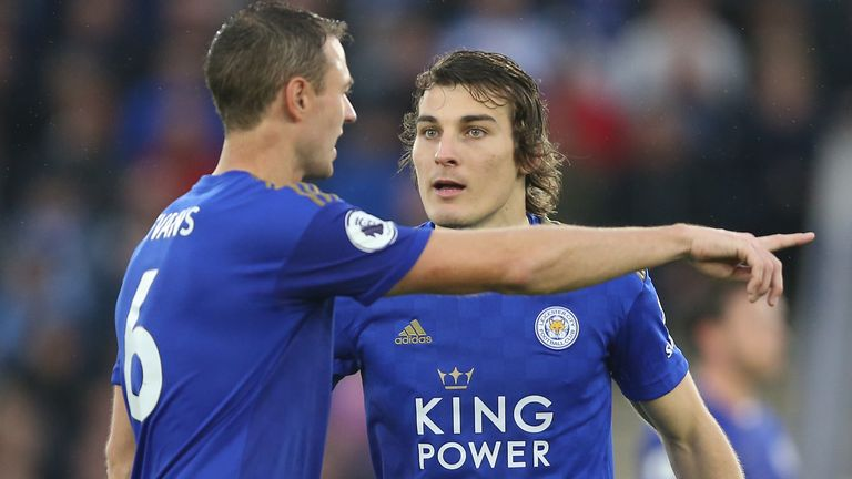 Soyuncu has become a key player alongside Jonny Evans in Leicester's defence