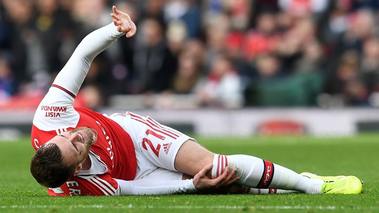 Calum Chambers will not play again this season
