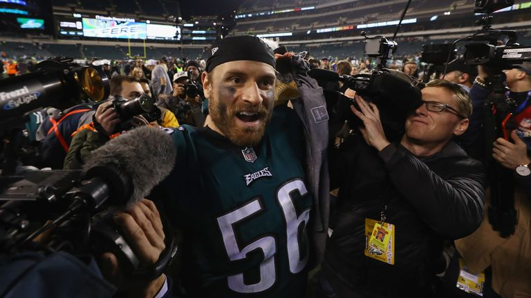 Chris Long had been to the Super Bowl with the Patriots one season before reaching it with Philadelphia