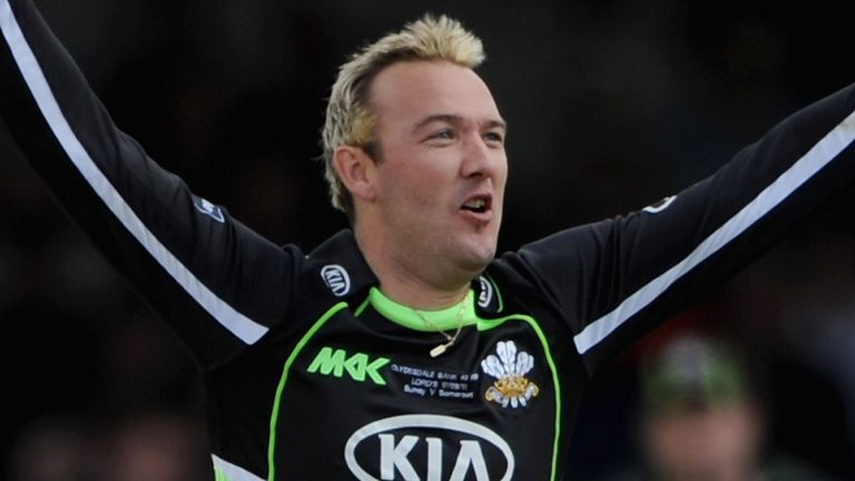 Chris Schofield ended his career at Surrey after leaving Lancashire in 2004