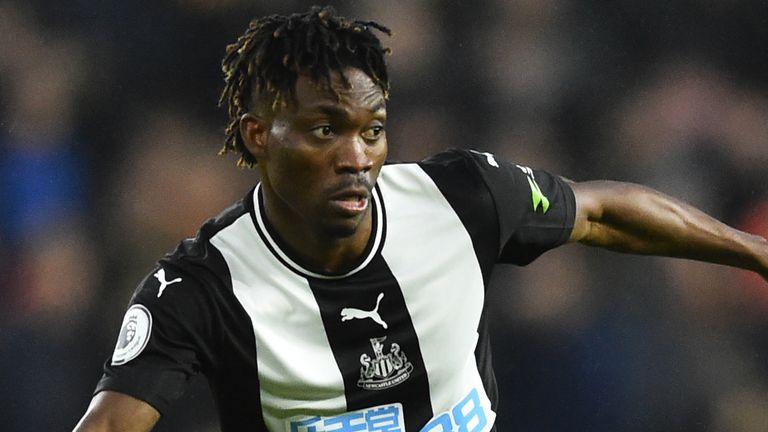 Christian Atsu has failed to score in 22 appearances for Newcastle this season