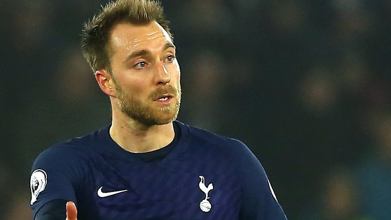 Barcelona have made an enquiry about signing Christian Eriksen