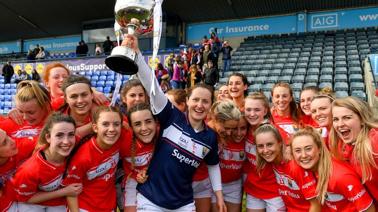Cork beat Galway in last year's National League final