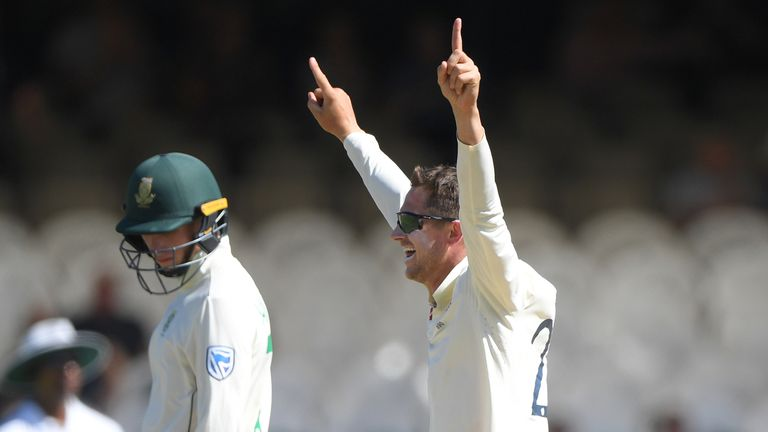 Denly also picked up the vital wicket of Quinton de Kock
