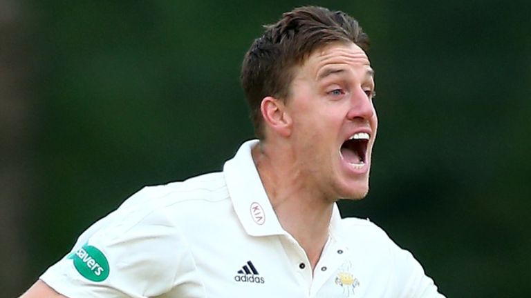 Tom Banton and Matt Parkinson make England ODI debuts against South Africa