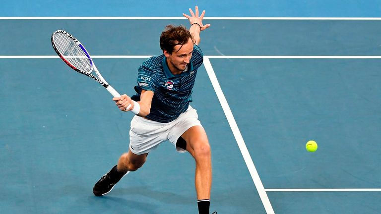 Daniil Medvedev highlighted just how dangerous he can be