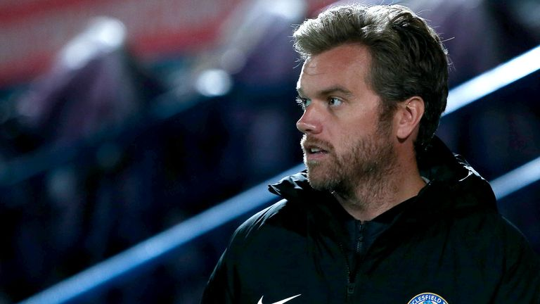 Daryl McMahon has quit his role as Macclesfield head coach