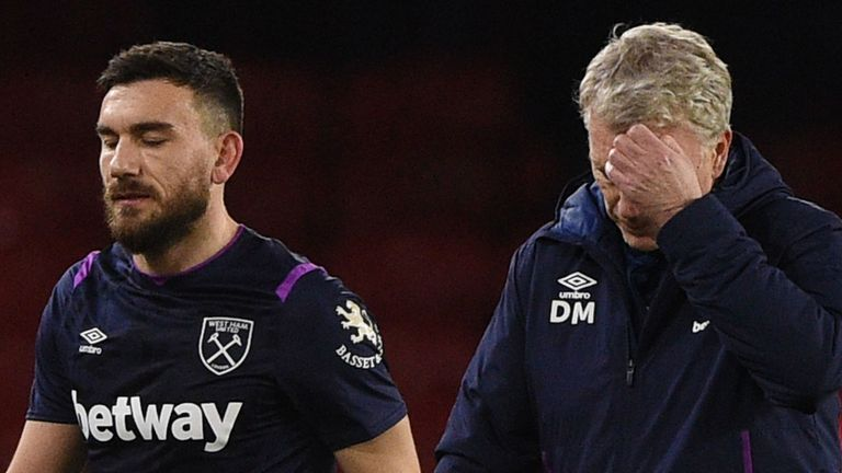 Robert Snodgrass' late equaliser for West Ham was ruled out for handball
