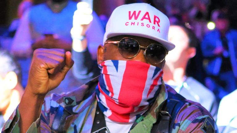 Derek Chisora has also been targeting a fight with Usyk