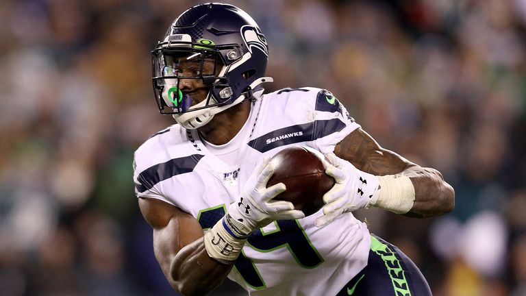 DK Metcalf had a huge day for the Seahawks with 160 yards receiving including a game-sealing grab