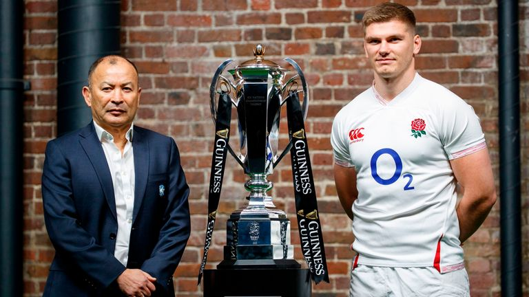 Jones has won two Six Nations titles as England coach and led them to the 2019 World Cup final