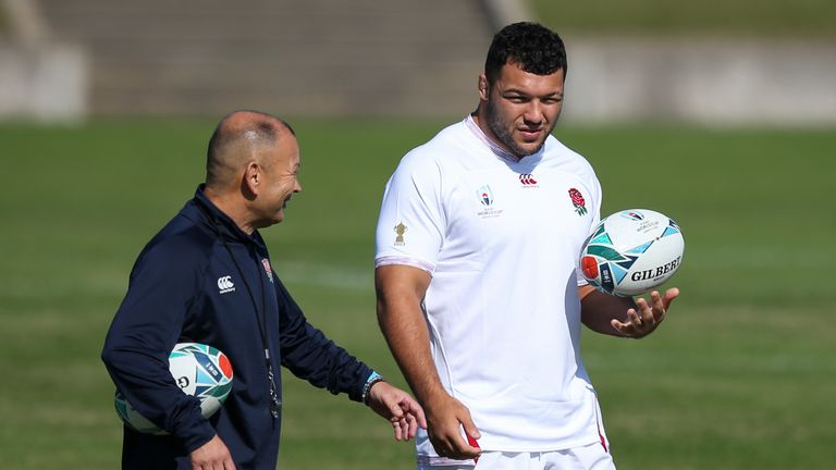 A chat with England head coach Eddie Jones saw Genge adopt a different mindset