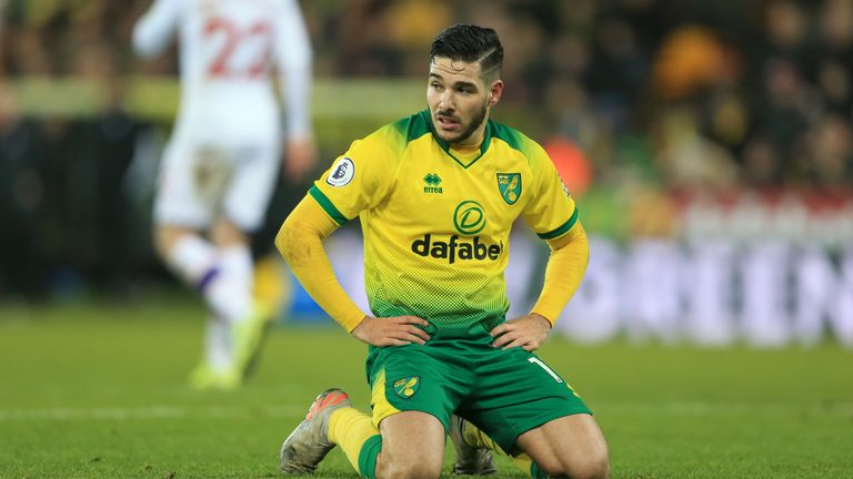 Emiliano Buendia has impressed for Norwich during a challenging season