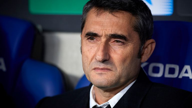 Ernesto Valverde has been sacked after two-and-a-half seasons