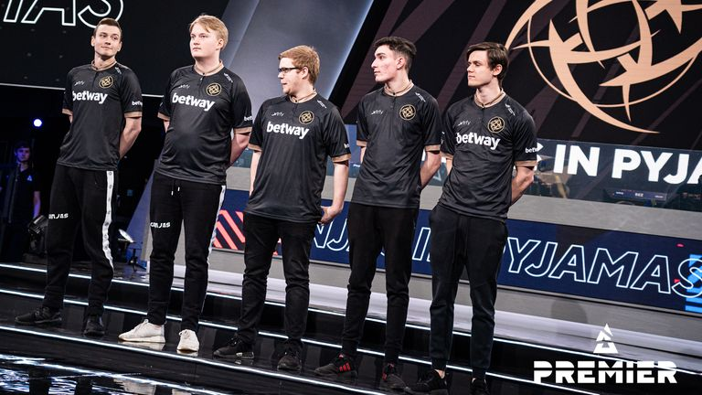 nawwk admits he was nervous on stage against FaZe Clan (Credit: BLAST)