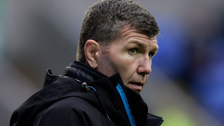 Rob Baxter's Chiefs sit top of the Premiership table