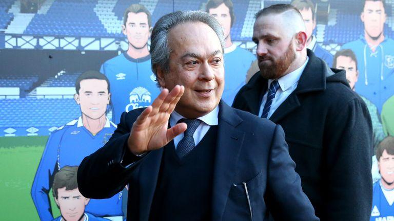 Everton majority shareholder Farhad Moshiri will invest in the playing squad