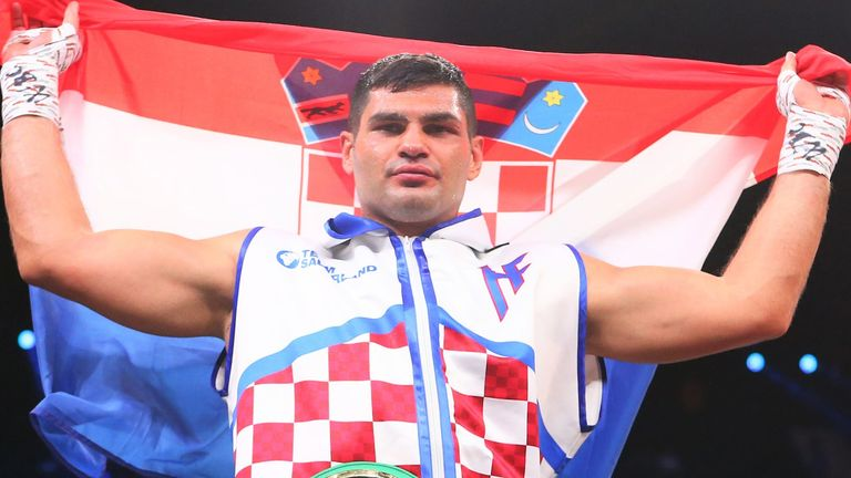 Filip Hrgovic won by KO in the second round