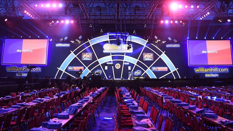 The World Darts Championship will remain behind closed doors