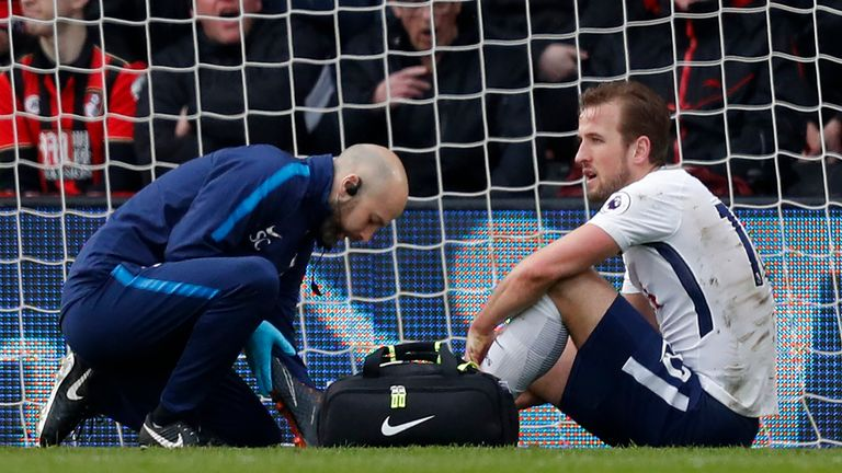 Kane recovered quickly ahead of the 2018 World Cup, missing one Tottenham game, along with two England matches