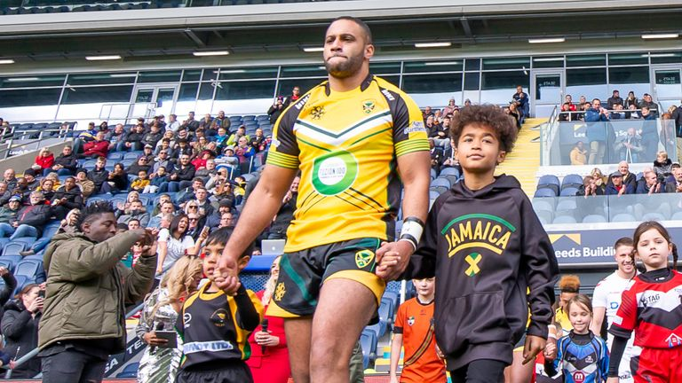 Jamaica will make their Rugby League World Cup debut in 2021