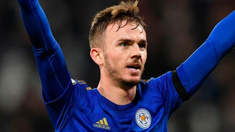 Maddison se pondrá en acción para Leicester el viernes