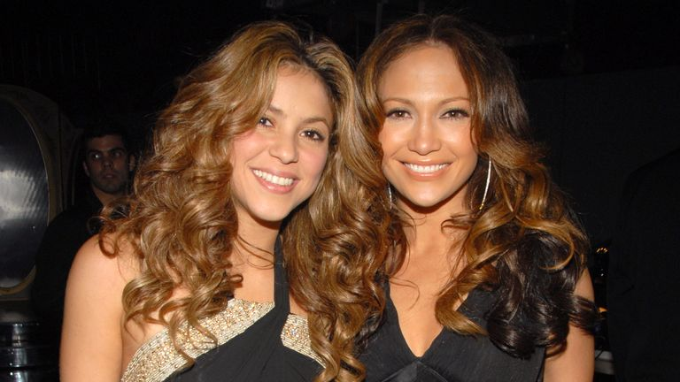Shakira and Jennifer Lopez are headlining this year's half-time show
