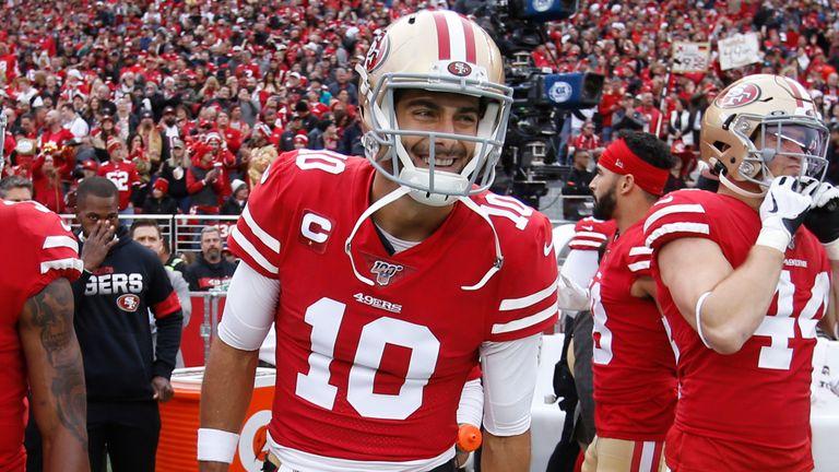 El regreso de Jimmy Garoppolo a la alineación titular después de la lesión del año pasado ha ayudado a los 49ers a recuperarse