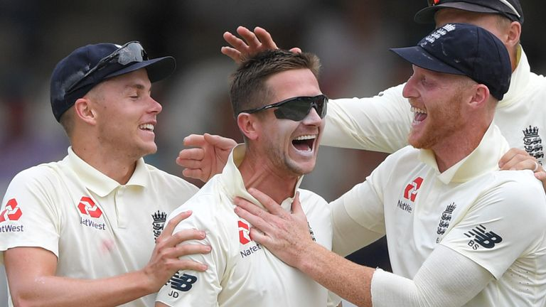 Denly took two wickets on day five at Newlands as England claimed a dramatic win