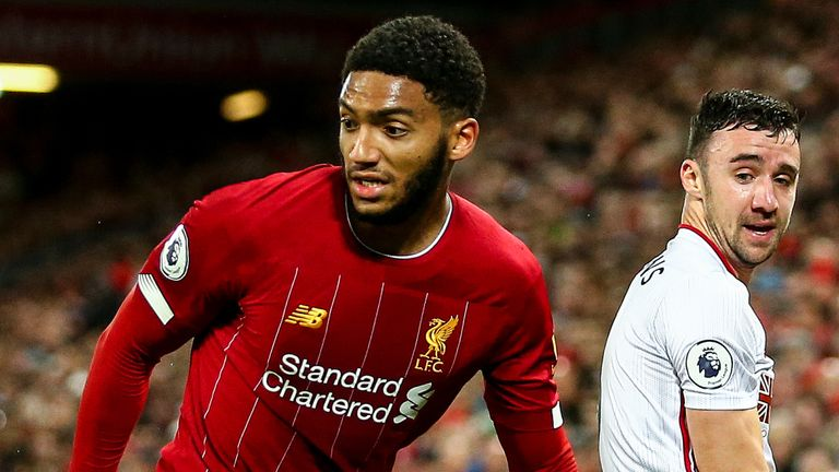 Joe Gomez insists Liverpool will not relax despite their big lead at the top of the Premier League