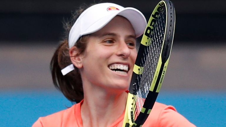 Konta was set to take part in the Olympics this summer before it was postponed due to the coronavirus outbreak