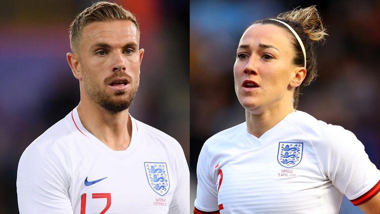 Jordan Henderson and Lucy Bronze scoop 2019 England player awards