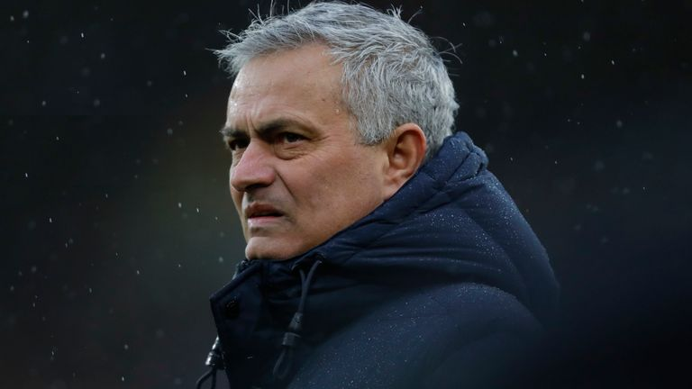 Jose Mourinho faces a huge test of his managerial skills at Tottenham